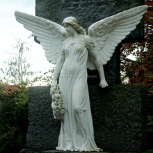 Tuin sculptuur decor <span class=keywords><strong>beton</strong></span> levensgrote vrouw angel <span class=keywords><strong>standbeeld</strong></span>