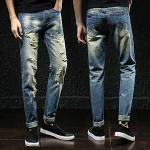 China manufacturers fast delivery high quality straight silm fit jeans importers in dubai for men