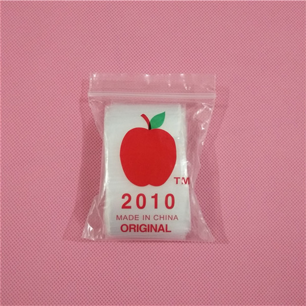 "2020 Apple Mini Ziplock 100 Baggies 25 Random Designs Prints Mix 100 Bags 2"" X 2"""