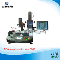 Automatic BGA rework station zm-r6808 ,Infrared & Hot Air BGA Rework Station with optical alignment