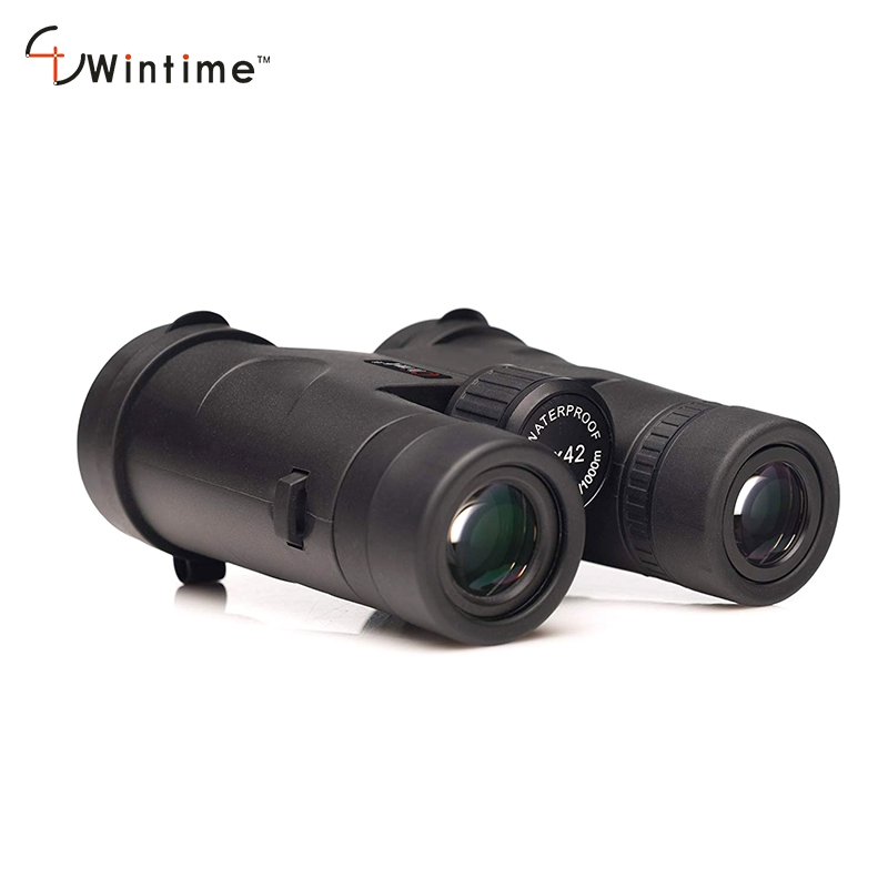 Waterproof ED Binoculars Telescope 10x42 Wide Angle Compact Binoculars High Resolution Hunting Low Night Vision for Adults