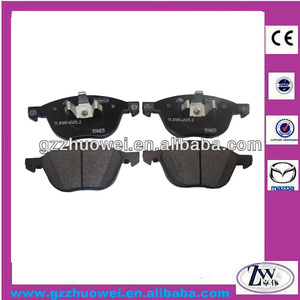 High quality car spare part wholesale brake pads for Mazda 3 / BK, Mazda 5 MPV / CR C2Y3-33-23Z / C2Y3-33-23ZA