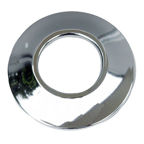 LASCO 03-1537 Sure Grip Chrome Plated Shallow Flange Fits 1-Inch Iron Pipe