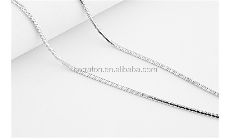 1.0/2.0mm Snake Chain 925 Sterling Silver Jewelry Hot Sell