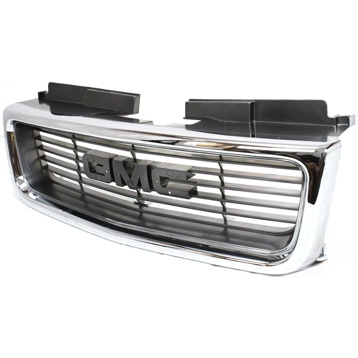 Diften 102-A5922-X01 - New Grille Assembly Grill Chrome shell gray insert GMC Jimmy GM1200422 19130793
