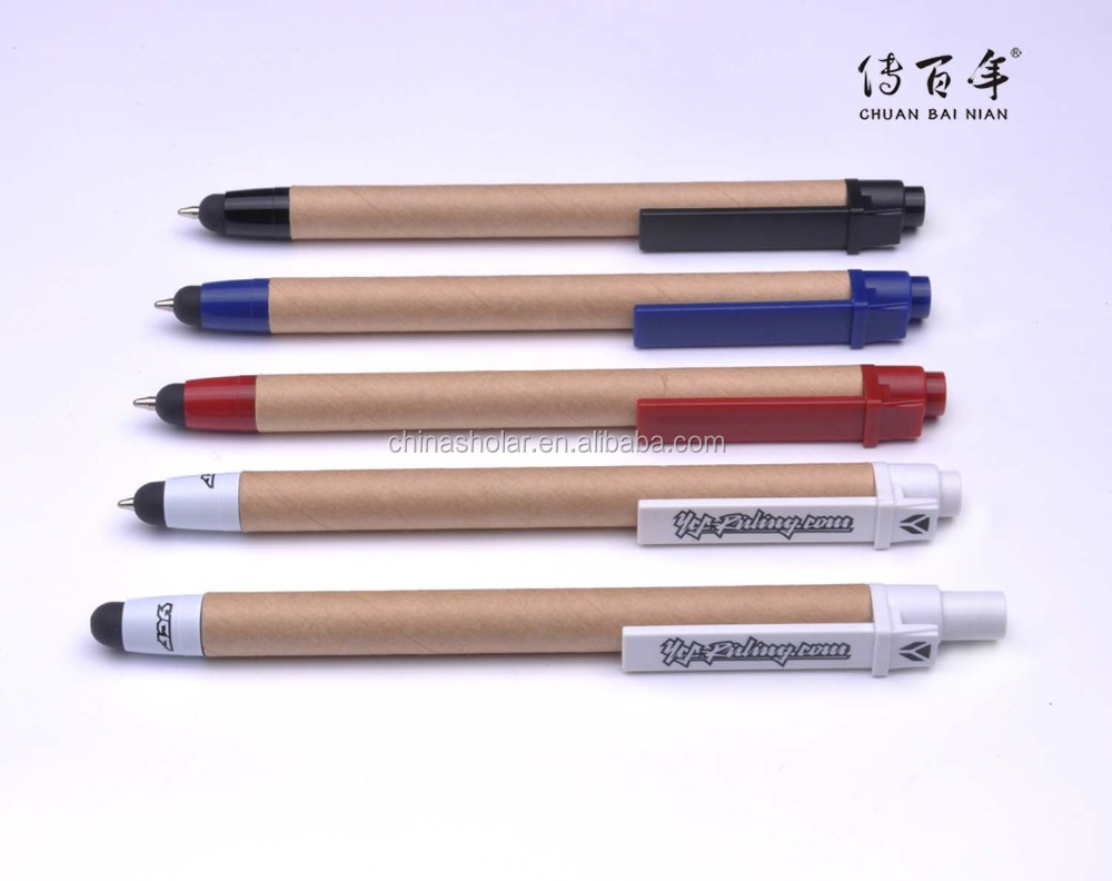 High quality promotional eco ballpen with touch