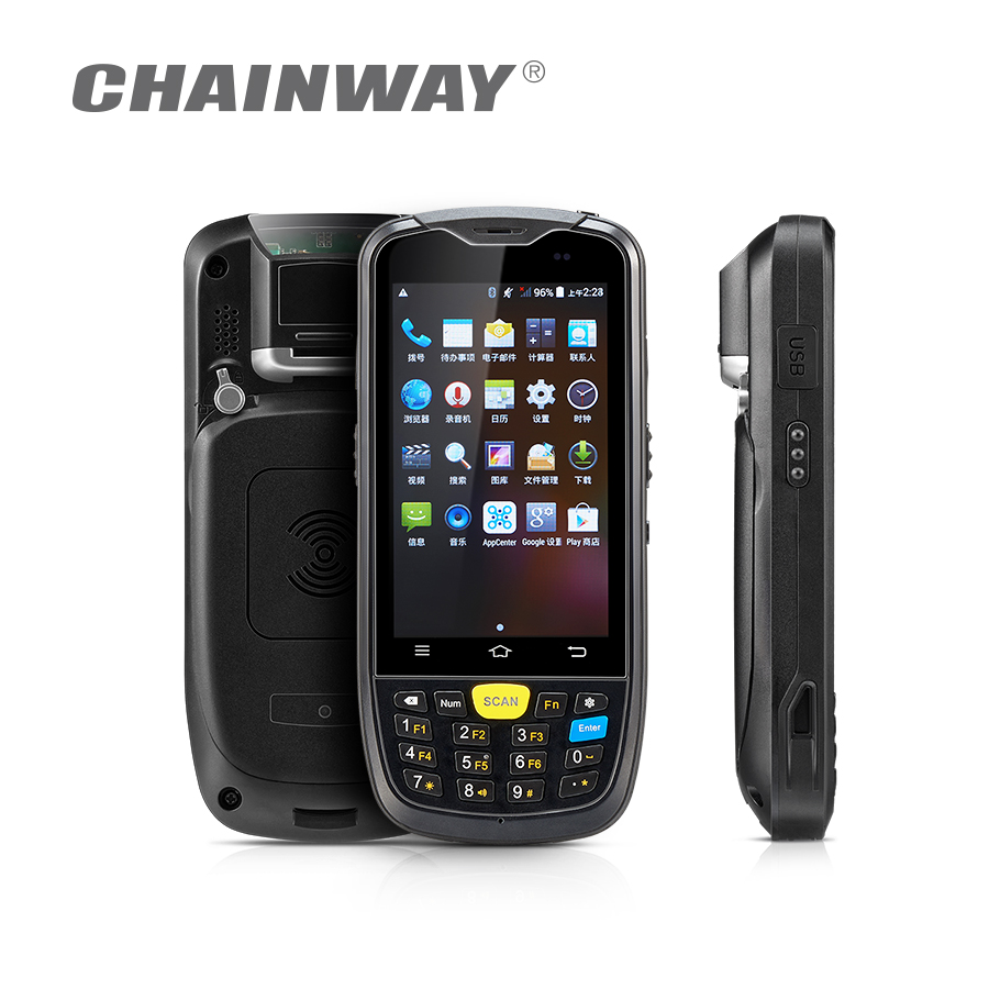 Chainway C6000 4G LTE Android Rugged Mobile Computer