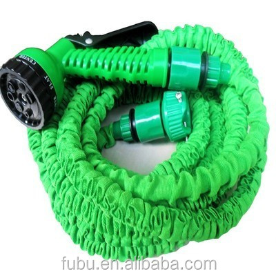 Magic Garden Hose 50ft Heavy Duty Expandable , 50FT Expandable Lightweight and Durable Water Hose with Nozzle Solid Brass Connec