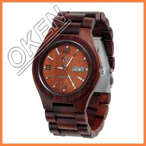 top quality BEWELL wood wrist mechanical movement wood watch