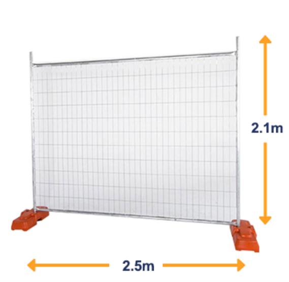 construction site temporary fencing panels / galvanize fence / galvanized steel fence panels