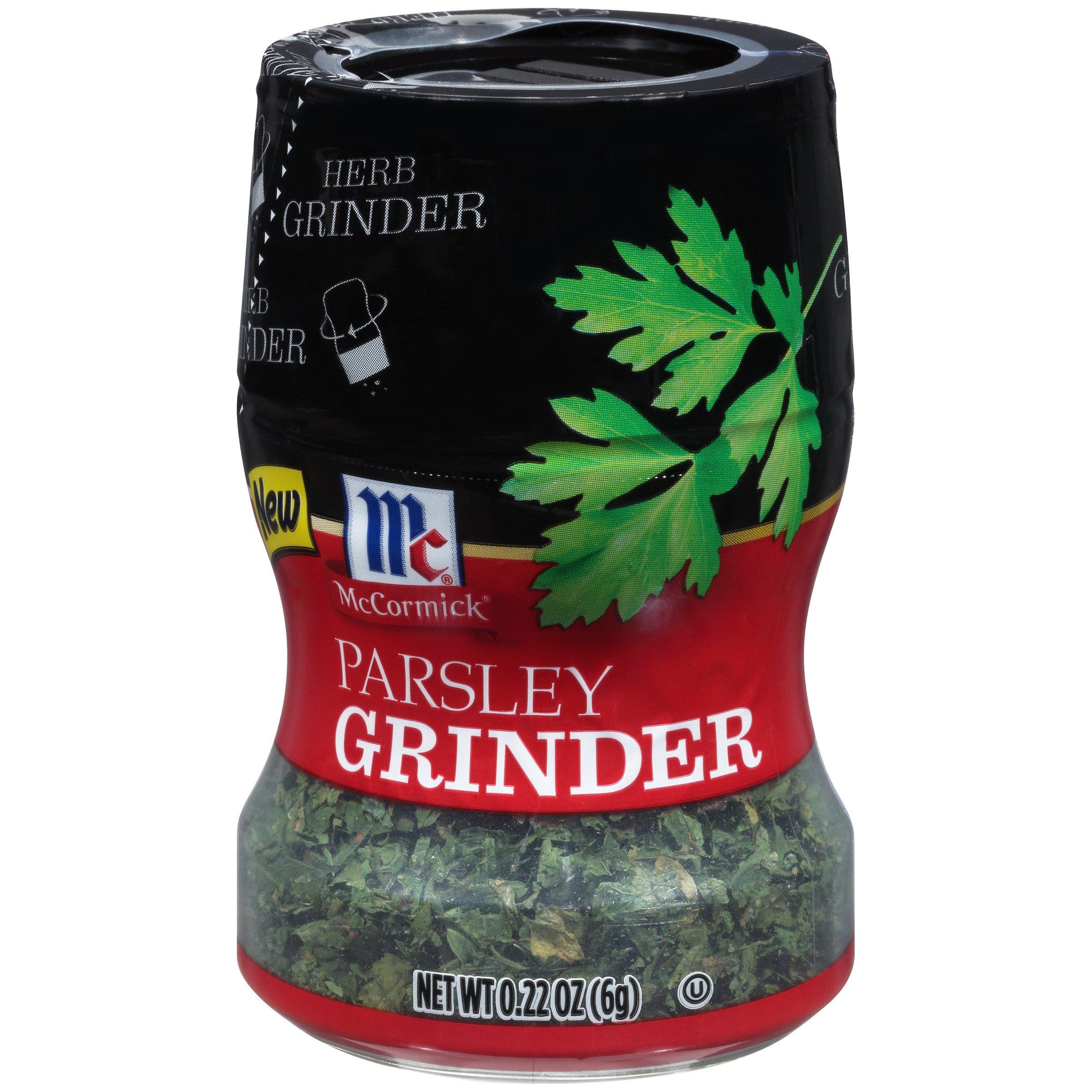 McCormick Parsley Herb Grinder, 0.22 oz