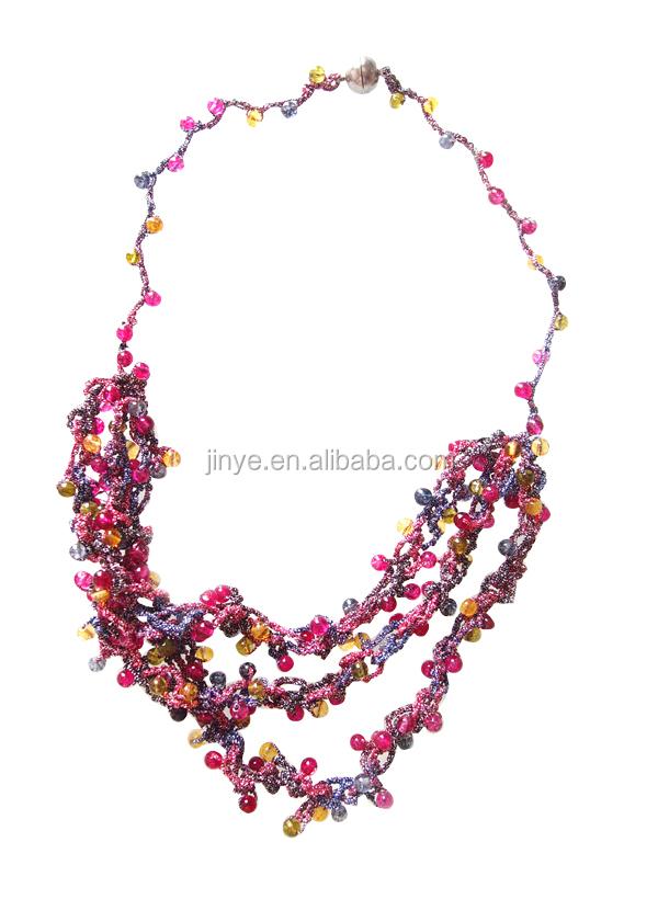 Venta al por mayor moda collar de crochet-Compre online los mejores ...
