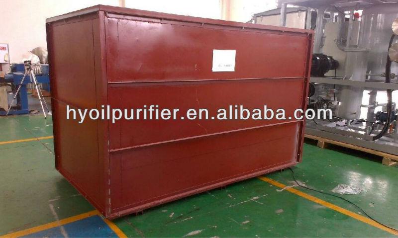 ZJC-R High Efficiency Vacuum Lubricating Oil recycling machine