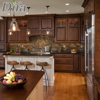 Custom American Standard Solid Wood Kitchen Cabinet Luxury Wooden  Kitchen,Affordable Traditional Kitchen Cabinets - Buy American Standard  Solid Wood ...