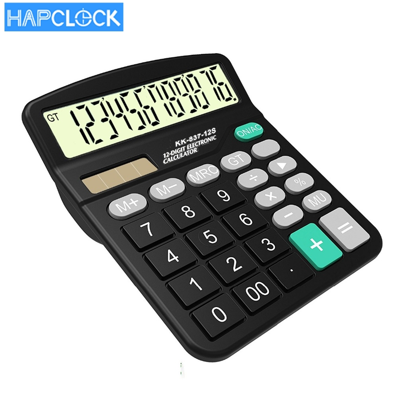 new hot sell desktop colorful big solar calculator
