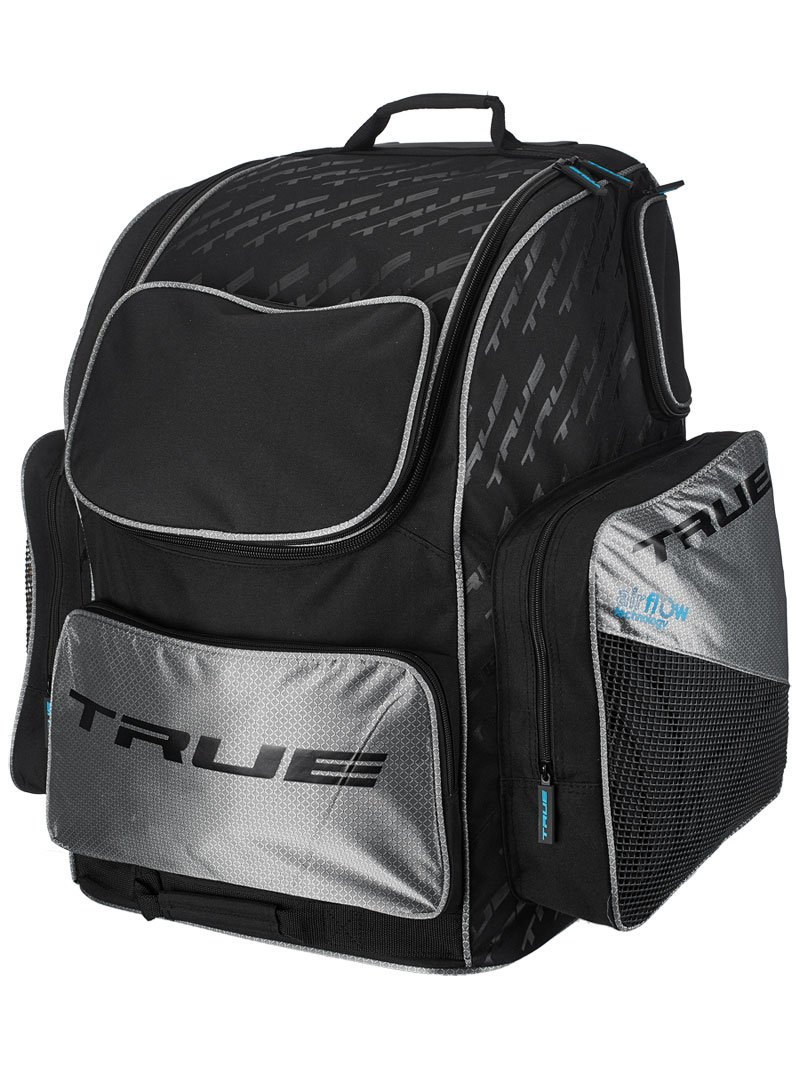 dff628cdeec Get Quotations · True Hockey Wheeled Ice Hockey Backpack Bag