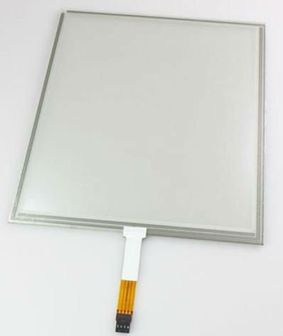 15 inch 4 wire resistive touch screen panel met snelle respons snelheid