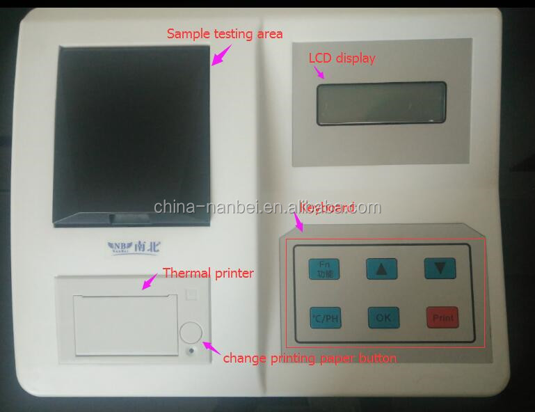 Digital speedy fertilizer testing npk soil nutrient tester