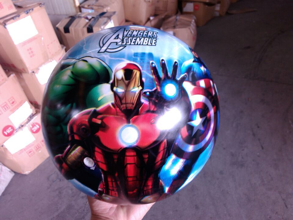 Top quality 9 inch full printing pvc inflatable toy ball