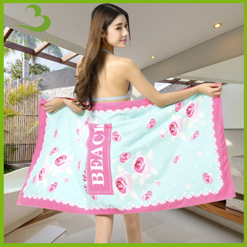 hot selling china products printed microfiber beach towel wholesale