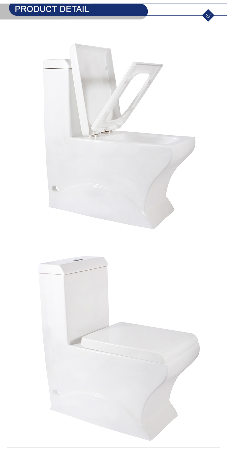 china top quality factory easy installation one piece dual flush toilet for wholesale