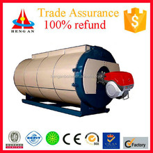 China CE Industrial Automatic WNS Horizontal Diesel Oil(gas) Heater Steam Generator or Boiler