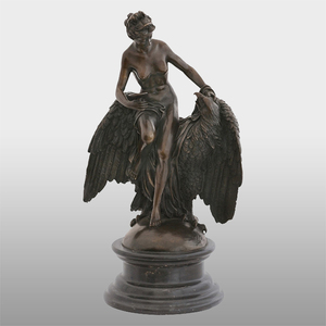 Outdoor Antique Cast polish eagle statue