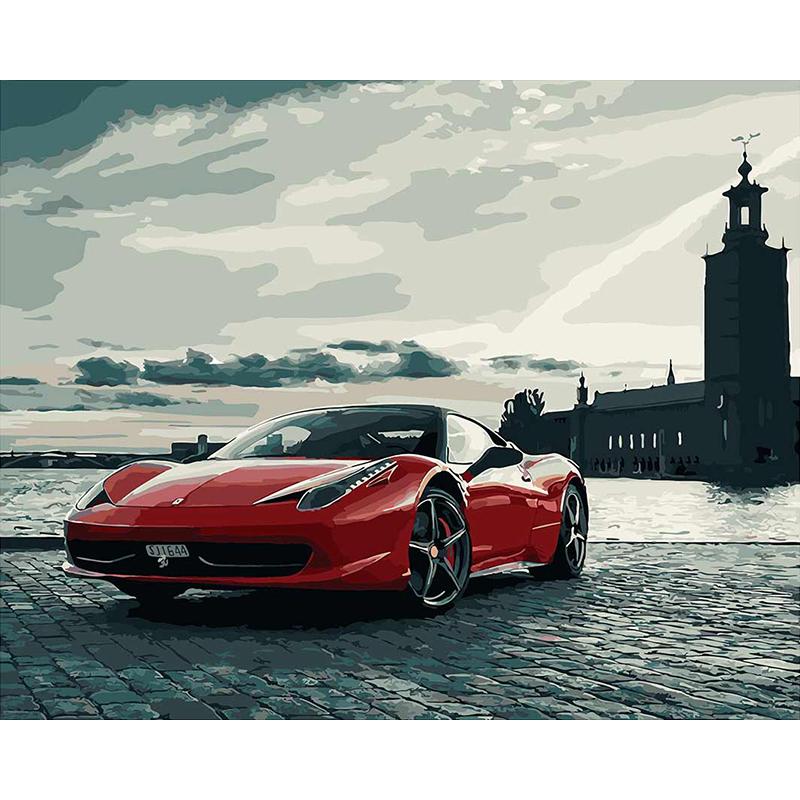 Venta al por mayor carros deportivos para pintar-Compre online los ...