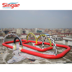 Inflatable air track,inflatable race track,inflatable zorb ball race track