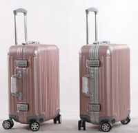 Aluminum Frame Spinner Luggage with Fashion Design and High Quality