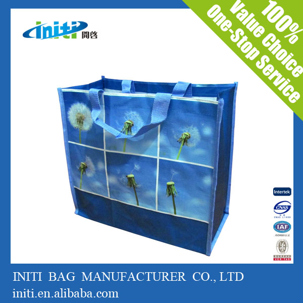 Recyclable laminated Bag | pp woven fabric shopping bag for sale