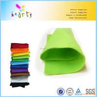 colored self adhesive felt sheets, A4 felt for craft