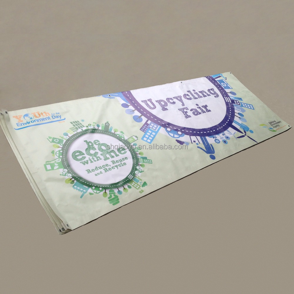 Promotional Advertising Printed Indoor Outdoor Banner Flag For Store