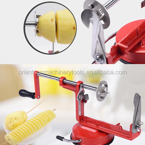 Ho Sale Stainless Steel Manual Twister Potato Slicer Buy