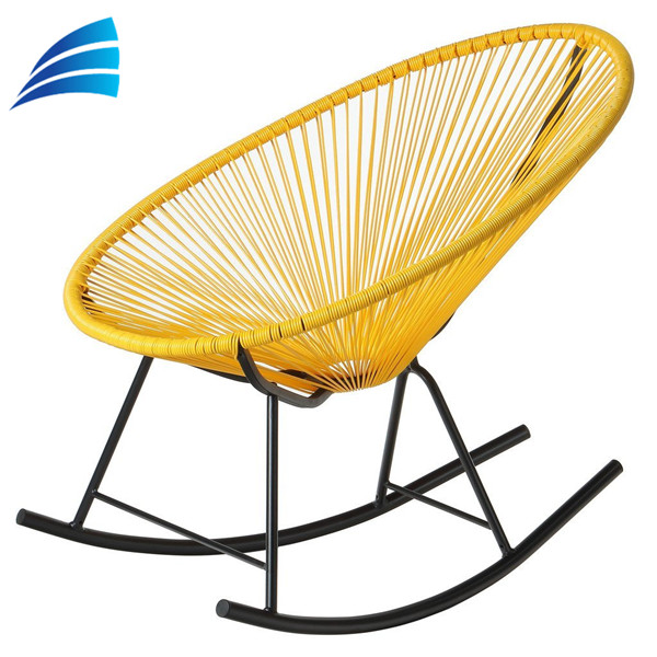 Acapulco synthetic rattan material rocking chair