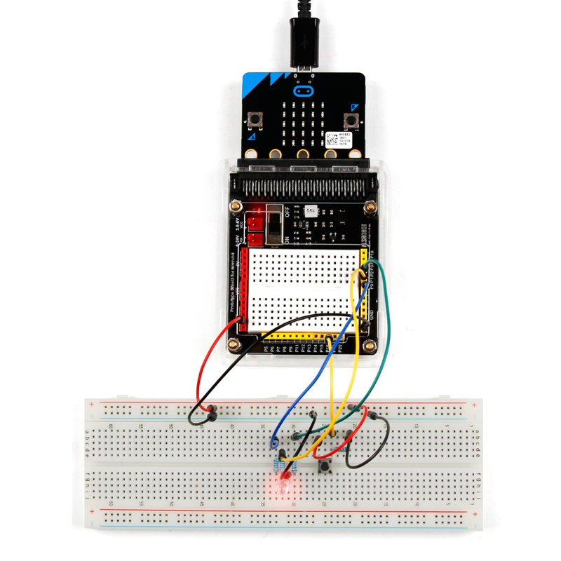 Getting started with BBC micro:bit kit Javascript Python programming STEM Education
