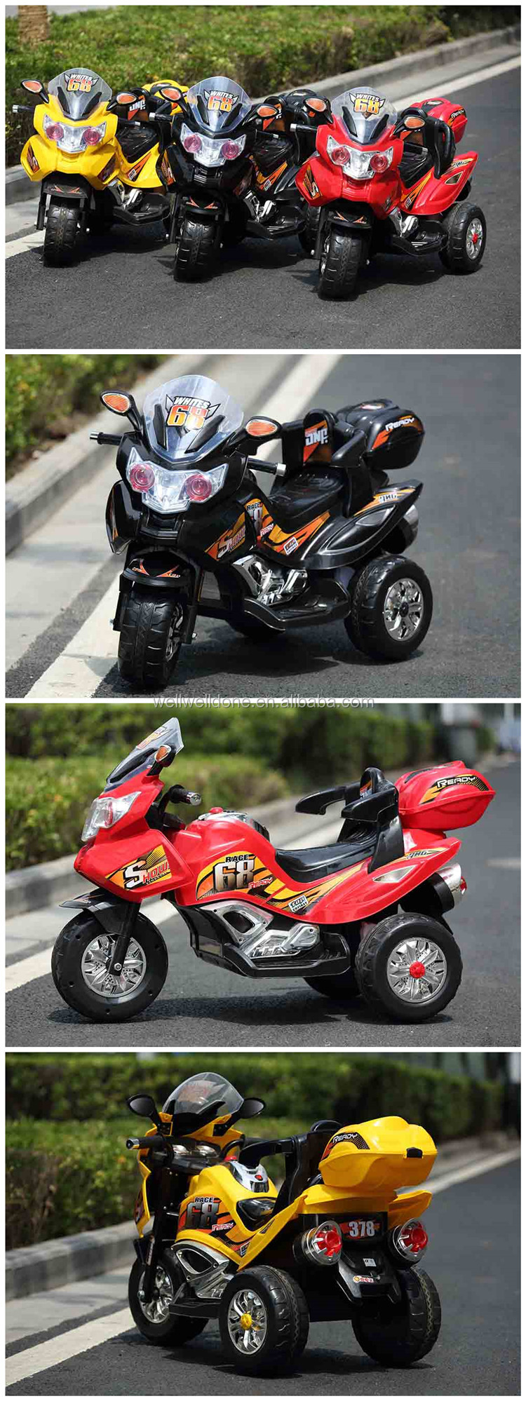 Safety Mini Kids Electric Motorbike,Racing Motorcycle For Children ...