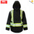 3M FR Reflective Tape Black winterworkwear jacket for outdoor