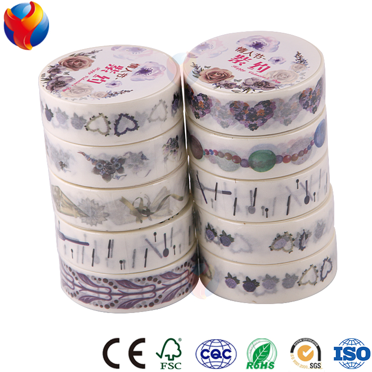 YEDDA brand yiwu factory wholesale custom janpanse masking washi tape
