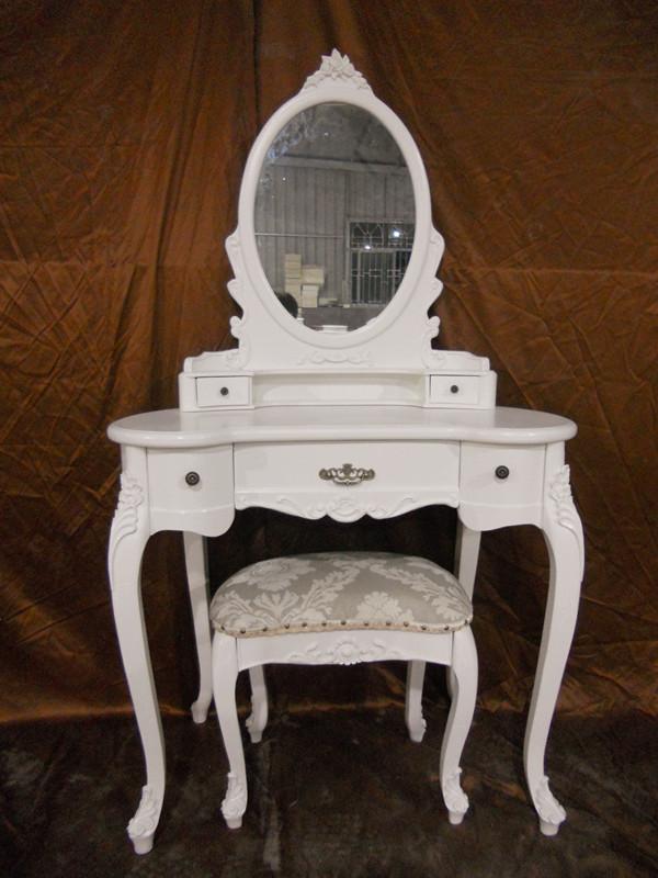 Hogar centro dormitorio espejo del tocador dise o blanco moderno muebles dresser vestidores - Tocador moderno dormitorio ...