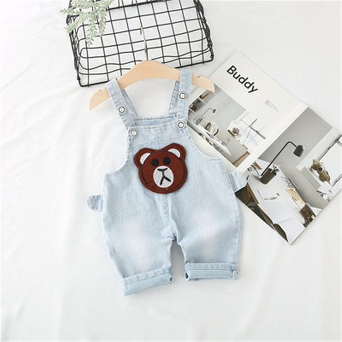 Kids Clothing From Thailand Fashion Children Embroidered Korean Brand Jeans New Product Distributor Wanted