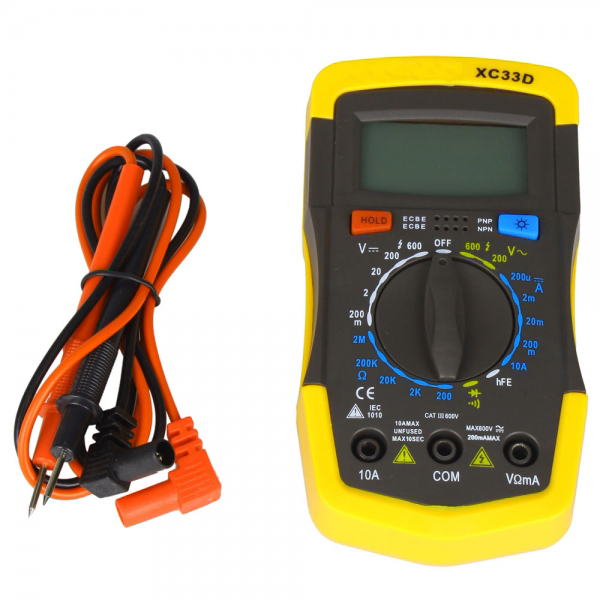 XC33D Multifunctional Testing Pen Type Digital Multimeter