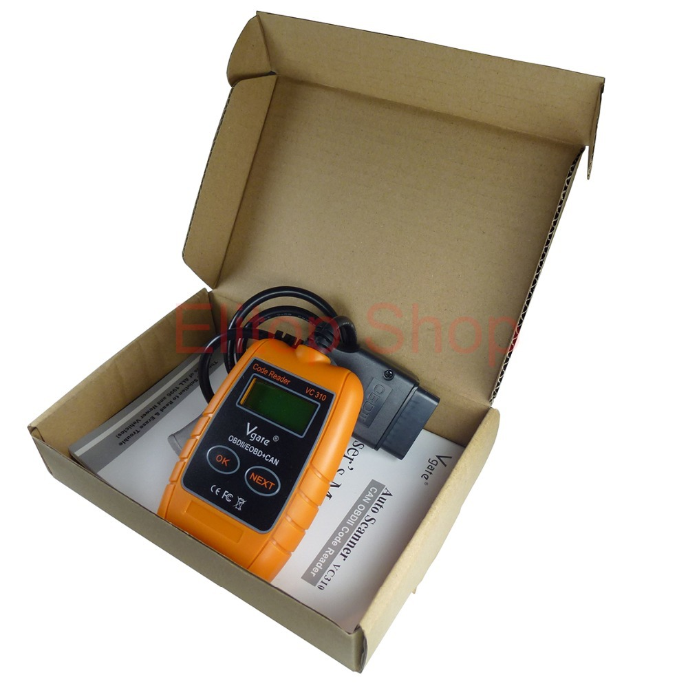 OBDii OBD2 EOBD CAN BUS Auto Scanner Diagnostic Scan Tool Scantool Fault Code Reader for OBDii Engine System