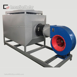 Electric Finned Air Duct heater with Blower