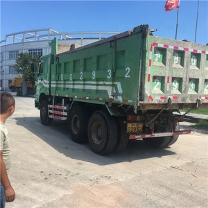 low price giant dump 6X4 truck, top quality used howo dump truck for sale