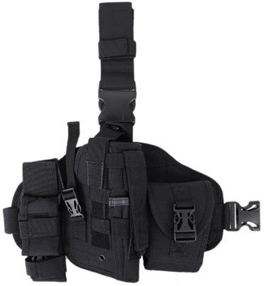 Adjustable Tactical Military Paintball Airsoft Molle Pistol Gun Drop Leg Thigh Holster