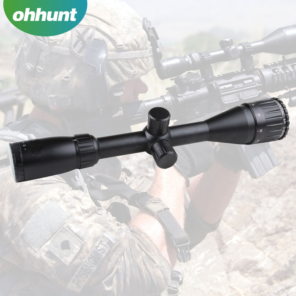 Rifle Optic Type Essential AR 3-9x40 AO tactical sight mil dot hunting rifle scope
