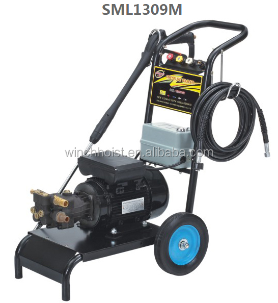 1800PSI 2.2KW high pressure washer,portable high pressure water jet machine,electric high pressure cold water jet cleaner