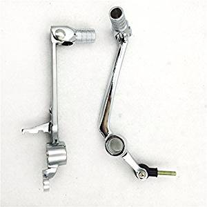 High Quality Chromed Gear Shift brake Pedal Lever For Yamaha YZF R1 YZFR1 2004 2005 2006