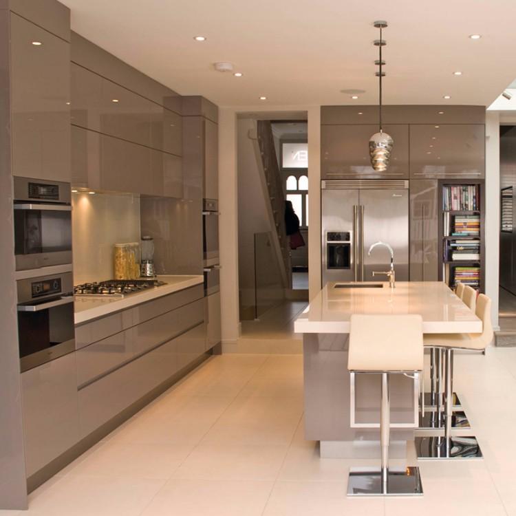China Factory Ready Made Cheap Aluminium Kitchen Cabinets ...